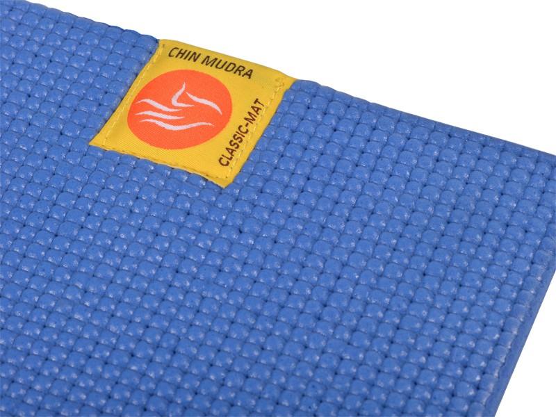 tapis de yoga non toxiques 183cm x 61cm x 4 5mm bleu