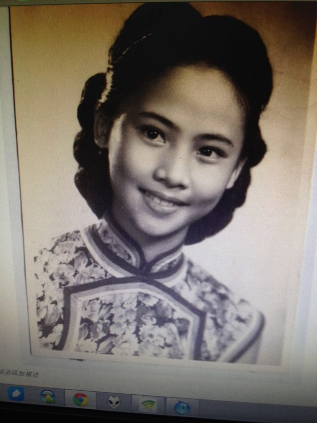 Pekingoper-Frau