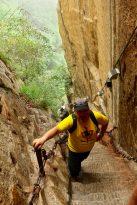 Steil bergauf! der HuaShan (1)