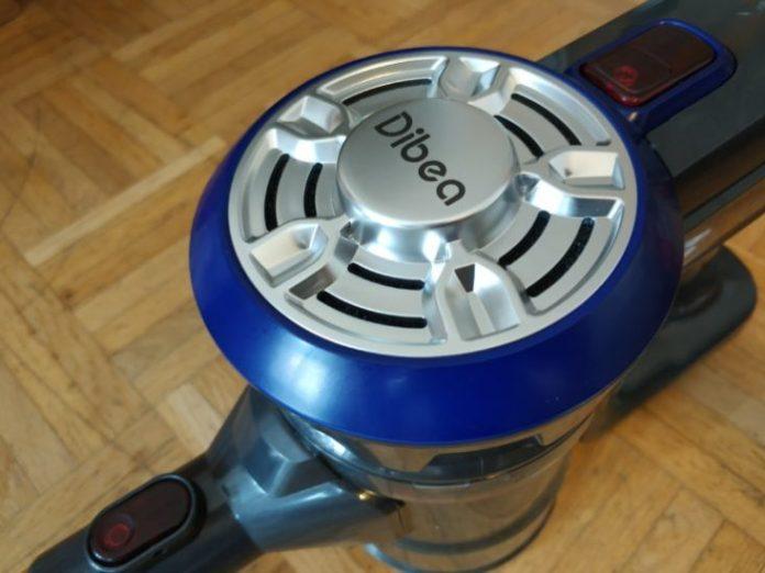 Design dell'aspirapolvere a batteria Dibea D18