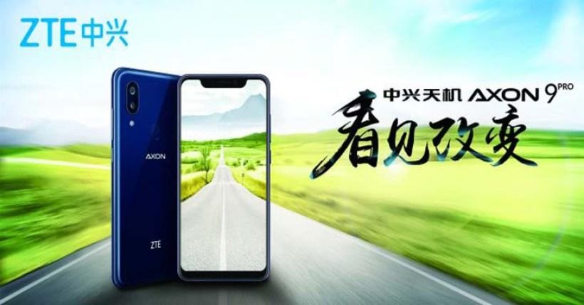 ZTE показала флагман Axon 9 Pro на официальном тизере