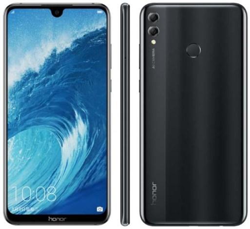 Фаблет Honor 8X Max появился на официальном сайте Huawei