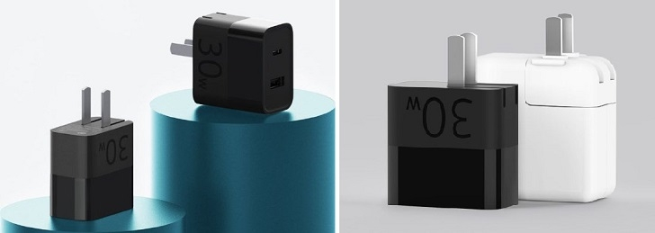 Xiaomi представила адаптер питания мощностью 30 Вт за 8 долларов
