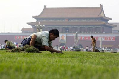 Green Tiananmen