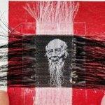 make art with human hair