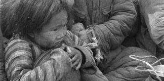 China famine images