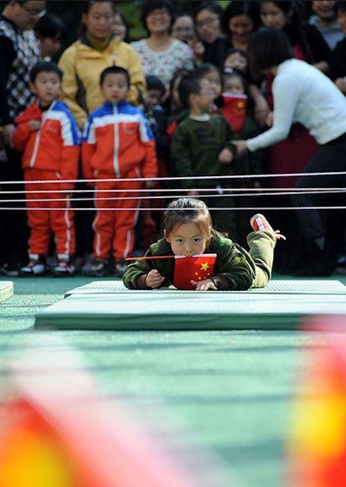 Chinese kids army