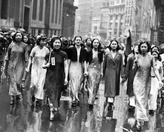 Chinese Women of America anti-Japanese demonstrations in New York in 1938: 15 beautiful pictures