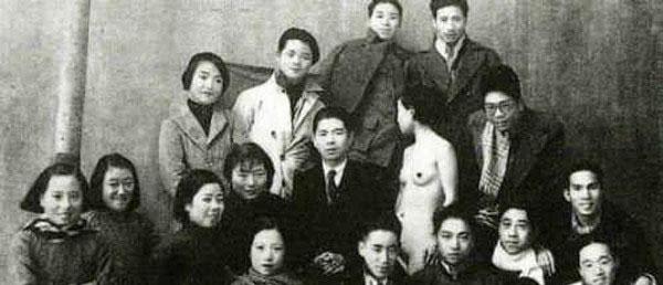 nude art in China