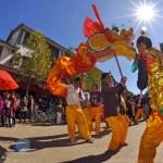 Heqing of the Bai people of Yunnan Dali - Traditional Dragon Dance