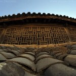 Heqing of the Bai people of Yunnan Dali - Traditional Bai roof