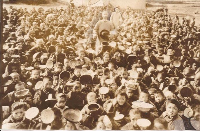Chinese Civil War Famine