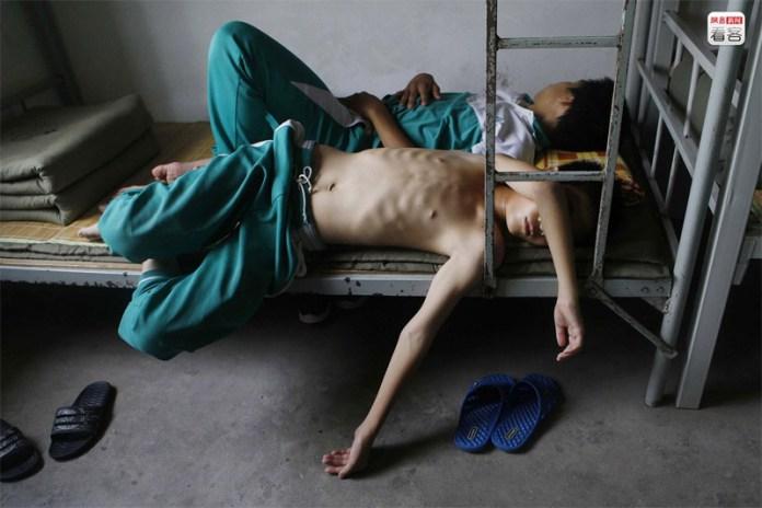 Internet addiction rehabs in China