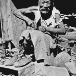David Gamble - old images of China - old Chinese man