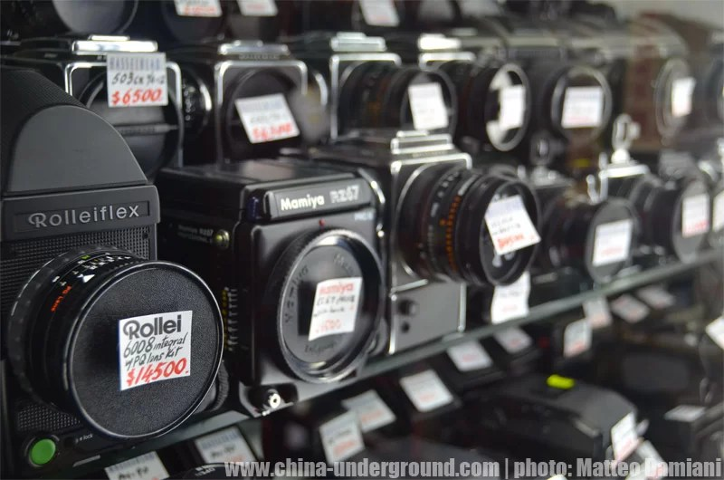 Camera market in Hong Kong