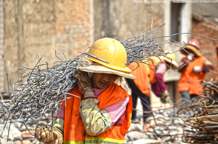 Chinese migrant workers