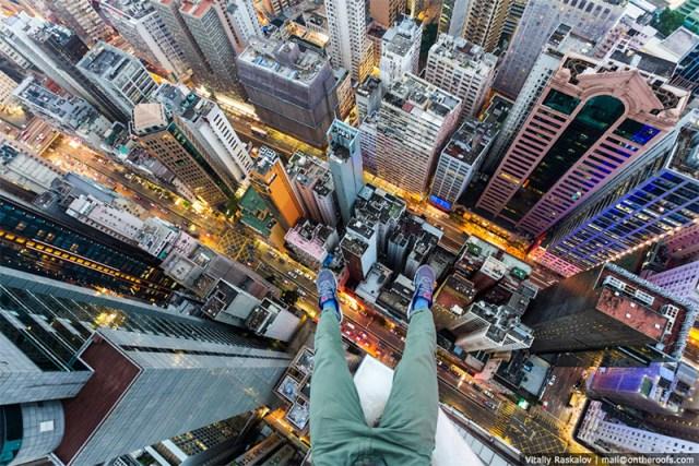 Skywalking in Hong Kong