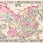 1865 Johnson Map of China