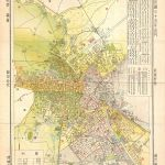 1932 Chinese Map of Tientsin (Tianjin or Tienjin), China