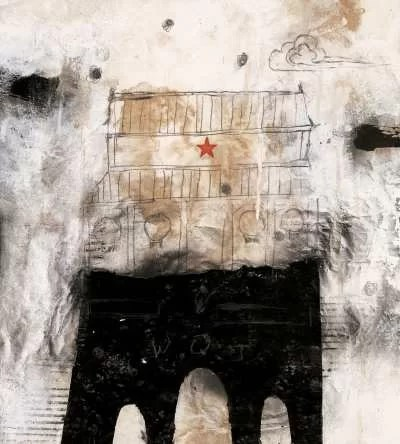 Wei Qingji---chinese-experimental-ink-wash