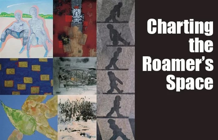 Charting the Roamer's Space---conceptual painting