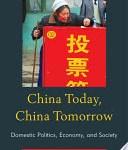 China Today, China Tomorrow
