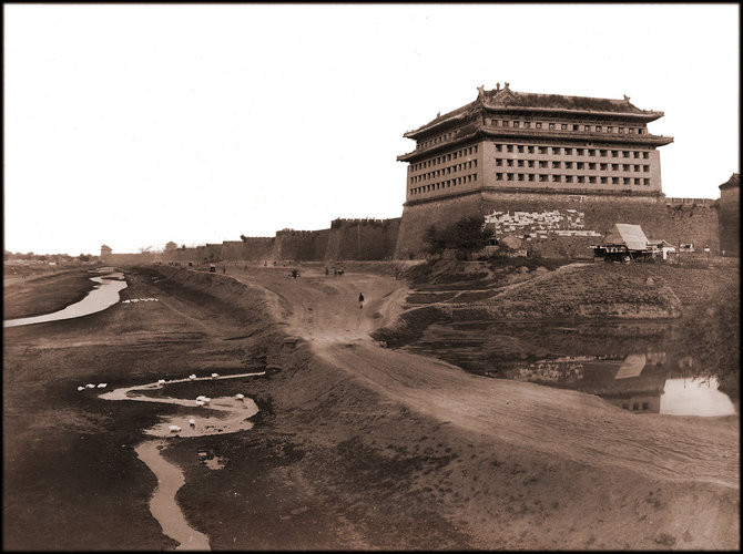 restored old photos of China
