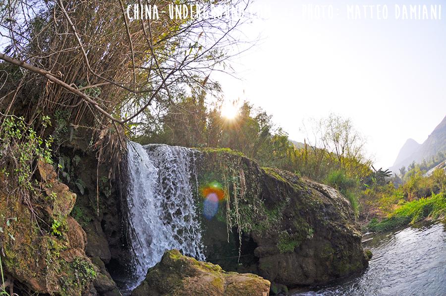 Waterfall Luoping, Yunnan, China