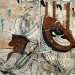 Vimalakirti debating Manjusri, Tang Dynasty