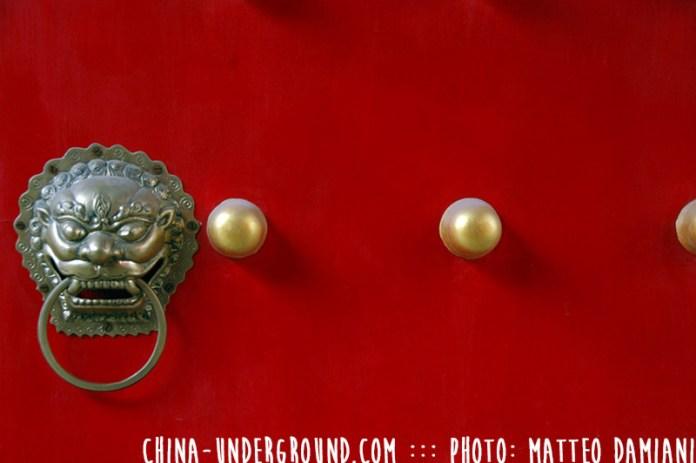 red-chinese-door