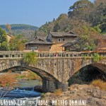 Ancient Earthen Castles in Tulou, Fujian-old chinese bridge