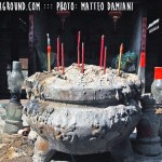 Ancient Earthen Castles in Tulou, Fujian - incense