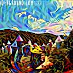 deepdream village