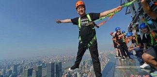 Jin Mao Tower sky walk