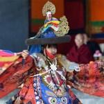 Lamas performing Cham Dance in Tibet