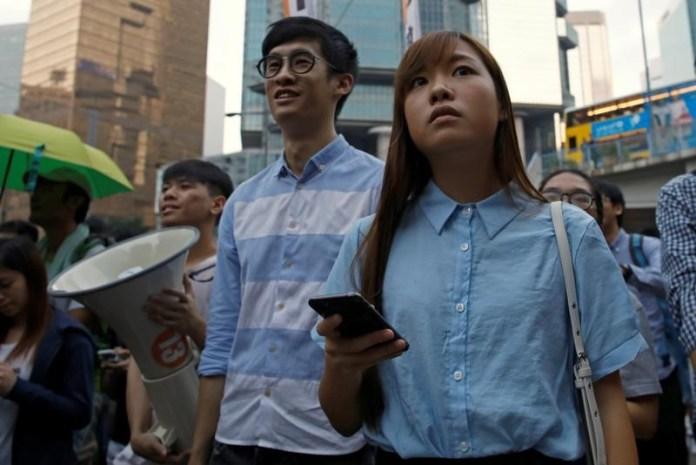 Hong Kong activists