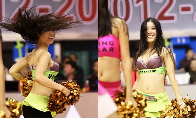asian cheerleader