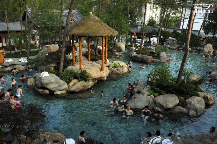 Chinese hot spring