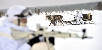 Russian army in the Arctic
