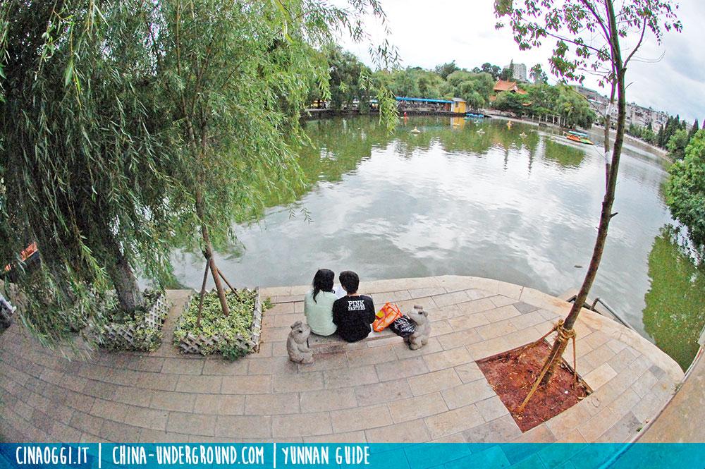 Kunming, Green Lake Park