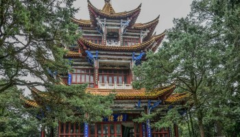 trip to the golden temple, Kunming