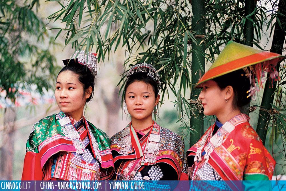 Ethnic minorities in Yuxi