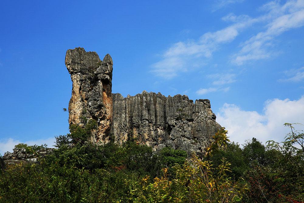 trip to Naigu Stone Forest