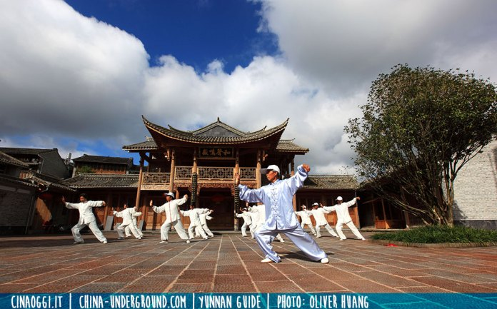 martial arts in China