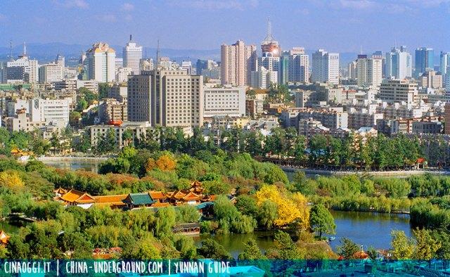 trip to kunming