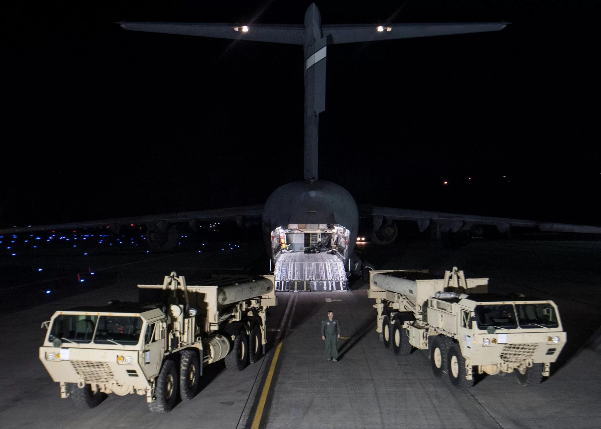 THAAD anti-missile system in South Korea