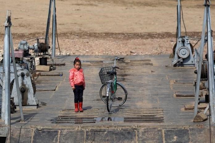 China-North Korea border