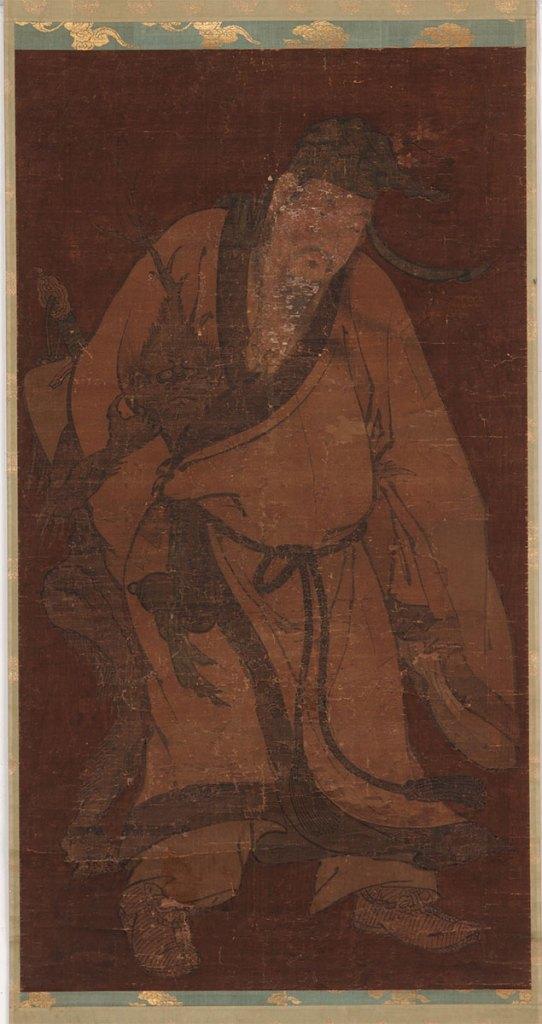 Lü Dongbin Subduing a Demon