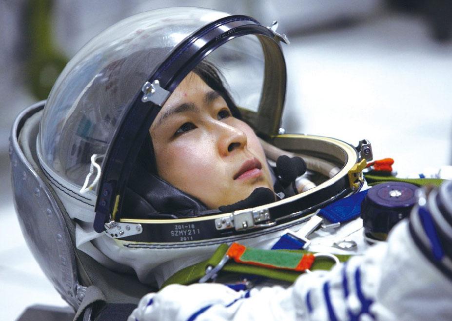 2012-Liu-Yang-Chinese-astronaut
