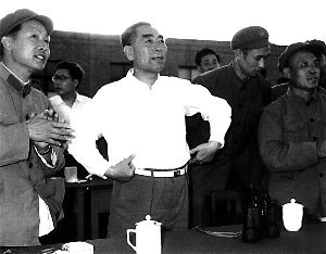 zhou-enlai-inspecting-base-20---China-space-program